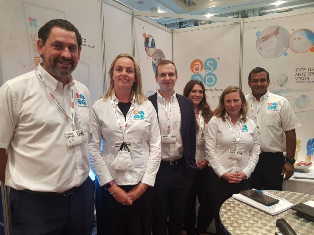 ASAP Innovations Team at the Cleanroom Technology Conference 2021